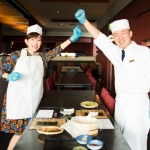 家族連れや、大人数の方におすすめ!沖縄でロール寿司体験!
