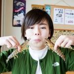 양식 생산량은 오키나와가 일본 내 1위! 고질라급(빅 사이즈)의 대하(구루마 에비)를 먹어보았습니다!