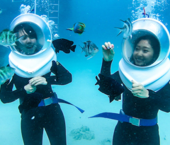 Enjoy Early Summer! Underwater Sea Walk in the Famous Snorkeling Spot