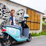 """石垣島観光にピッタリ!エコな次世代バイク """"Gogoro"""" をレンタルしてみた!"""