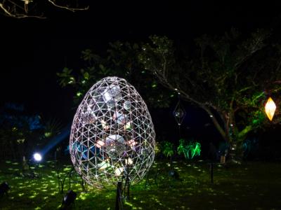 在石垣島・星空部落內仰躺著欣賞滿天星斗和天然的星象儀都讓您一網打盡☆