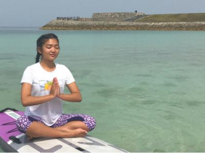 Okinawa SUP Yoga (Beginner Yogi)