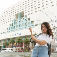 【Hotel tours Vol. 3】Very convenient for sightseeing to Naha and Kerama! Sneaking in the most close hotel to Tomarin!