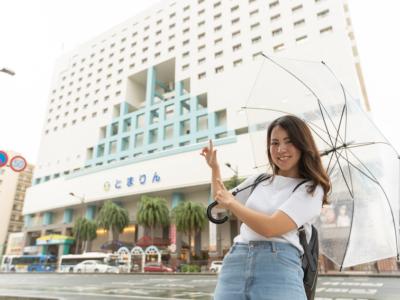 【ホテルツアーVol.3】那覇・慶良間観光にとても便利!とまりんに1番近いホテルに潜入!