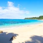 """오키나와 본섬에서 차로 갈 수 있는 주변섬 """"이케이섬""""에 있는 「오도마리 비치」사람의 손 닿지 않은 천연비치!"""