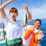 【惊喜福利在后头】冲绳人气户外活动套餐!海钓+独木舟+青之洞窟浮潜 !一日游制霸玩法