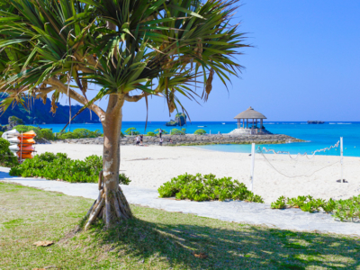 100% Okinawan mood! City beach