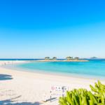 環境省が選んだ「快水浴場百選」に指定されているビーチはココ! エメラルドビーチ♪