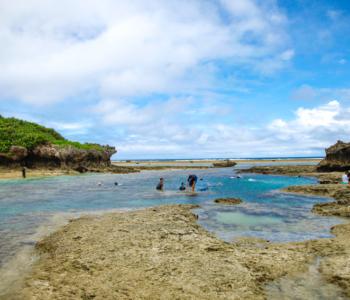 与色彩缤纷的鱼儿结伴玩耍「备濑崎」♪浮潜爱好者千万要把握好机会!