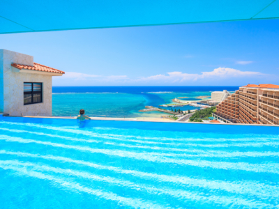 【Hotel tours Vol. 6】Infinity pool with a sea view of Onna Village is available!