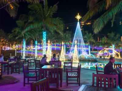 可以欣賞絕美夢幻燈飾的渡假飯店3選