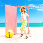 【どこでもドア出現】沖縄 今帰仁村のウッパマビーチ