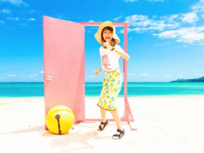 【任意門出現】沖繩 今歸仁村的Uppama海灘