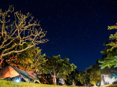 充足的設備與美麗的大自然!位於沖繩北部露營場地3選