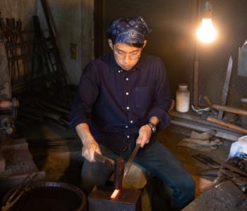 和沖繩唯一的日本刀鑄刀職人「琉球刀」一起!製作世界唯一一把專屬自己的拆信刀!