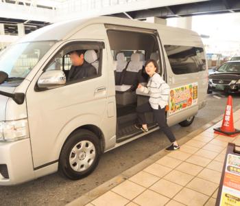 一個人沖繩之旅必看!不需要租車,搭搭看「One Two Smile接駁巴士」吧。