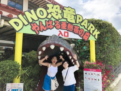 沖繩御菓子御殿「DINO恐龍公園山原亞熱帶之森」回到侏儸紀時代!