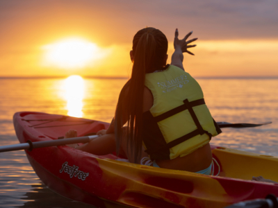 For people who want to view the perfect sunset from Miyakojima♪ Sunset Kayaking Experience