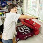 【沖縄でサッカー観戦①】「FC琉球」のマイユニホームも作っちゃったよ!