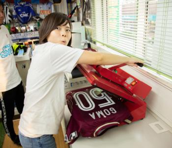 【沖縄でサッカー観戦①】「FC琉球」のマイユニフォームも作っちゃったよ!
